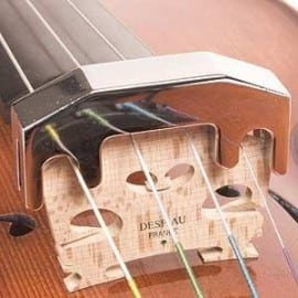 Professional practice violin mute