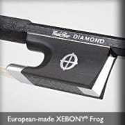 Codabow Diamond SX Violin bow frog