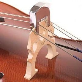 Professional practice cello mute