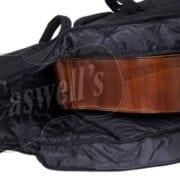 Student Double bass bag open