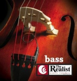 The Realist copperhead double bass pickup is increasingly popular with professional bass players