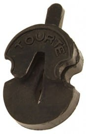Tourte waisted violin mute