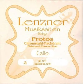 Lenzner Protos cello A string