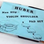 Huber violin pad set