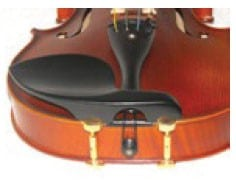 Guarneri - EBONY with hill gold feet