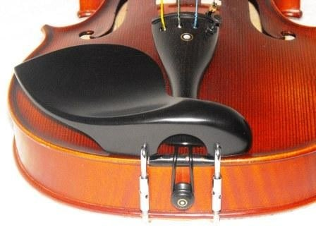 Strad Ebony Violin chinrest