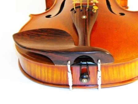 Strad Rosewood Violin chinrest