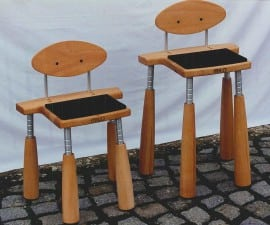 Milo Cello Chair low for young cellists to help with correct posture