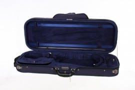Caswells superlight violin case blue/blue