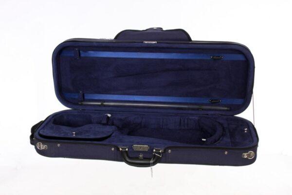 Caswells superlight violin case blue/blue