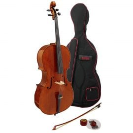 The Hidersine Piacenza Cello Outfit is an upgrade frmo the entry level cello