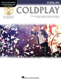 Coldplay Violin playalong with CD backing tracks