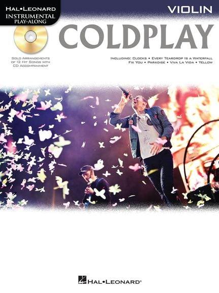 Coldplay Violin playalong with CD backing tracks