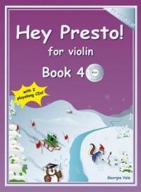 Hey Presto! for Violin Book 4