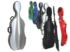 Sinfonica Z-tec Cello case with wheels