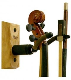 String Swing violin wall hanger with violin