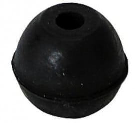 Cello rubber round endpin ferrule
