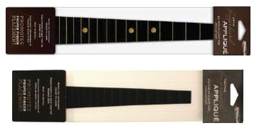 """Black fingerboard appliqué – 3/4 violin, 13"""" viola"""