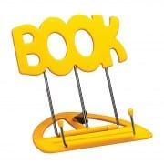 K&M 'book' desktop music stand - yellow