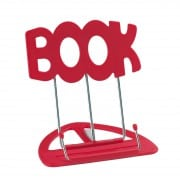 K&M 'book' desktop music stand red