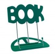 K&M 'book' desktop music stand green