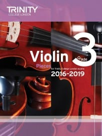TCL Violin Grade 3 Exam pieces 2016-2019