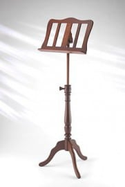 Georgian Single wooden music stand