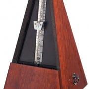Wittner metronome Mahogany 'faced'