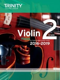 TCL Violin Grade 2 Exam pieces 2016-2019