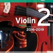 TCL Violin Grade 2 Exam pieces 2016-2019