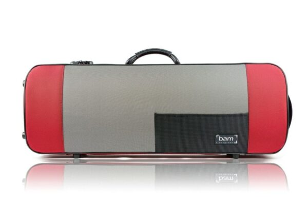 BAM Stylus oblong viola case is attractive and practical
