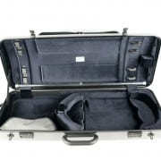 BAM Hightech oblong viola case (Tweed, with pocket)
