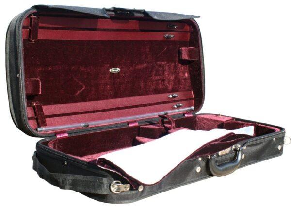 'Concordia' violin & viola combination case