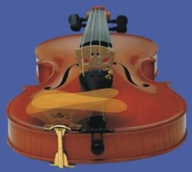 SAS Violin Chinrest