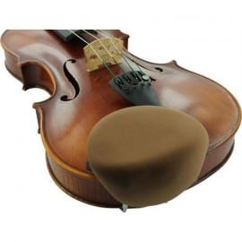 Violin stradpad chinrest pad in Rosewood