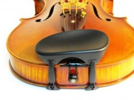 Wittner centrally mounted Viola Chinrest