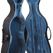 Lightweight styrofoam cello case