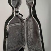 Hiscox cello case (BLACK with wheels)