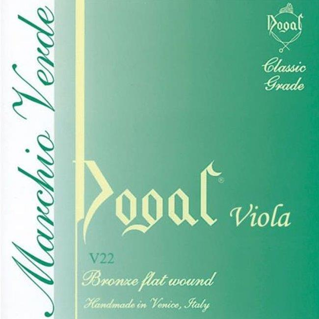 Dogal Green Viola string set