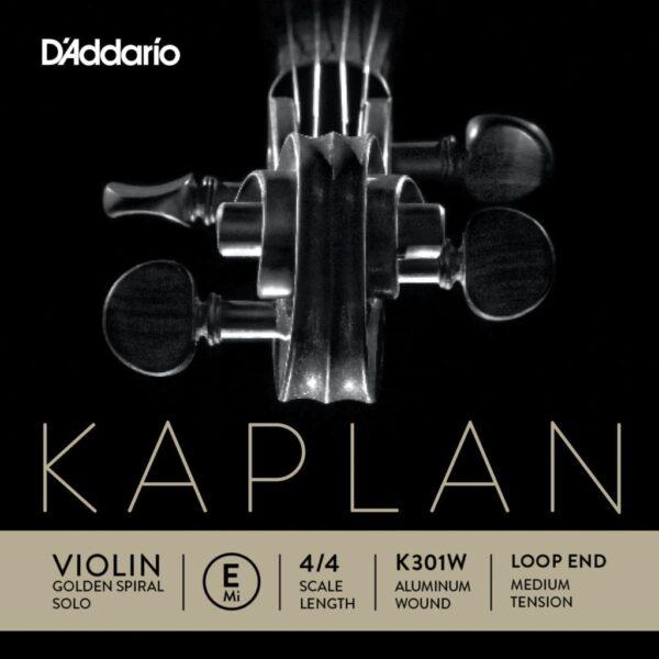 Kaplan Golden Spiral Solo violin E string (aluminum wound)