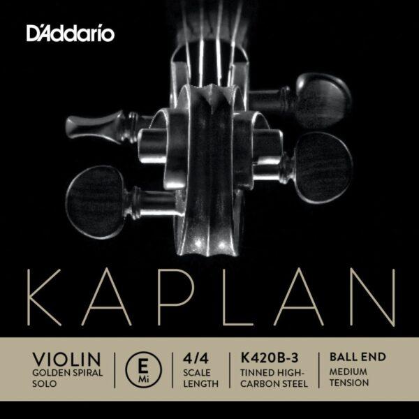Kaplan Golden Spiral solo Violin E string