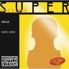Superflexible cello C string