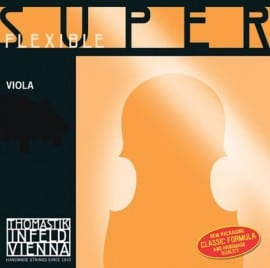 Superflexible viola G string
