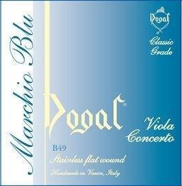 Dogal Blue label viola string SET