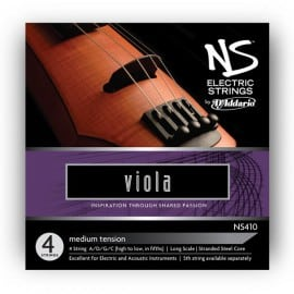 NS electric viola strings SET