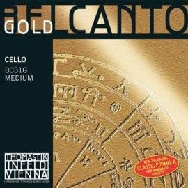 Belcanto Gold Cello string SET