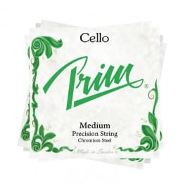 Prim Cello string set for advancing players