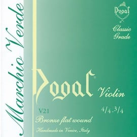 Dogal Green Violin string SET