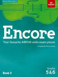 Encore Violin book 3 ABRSM