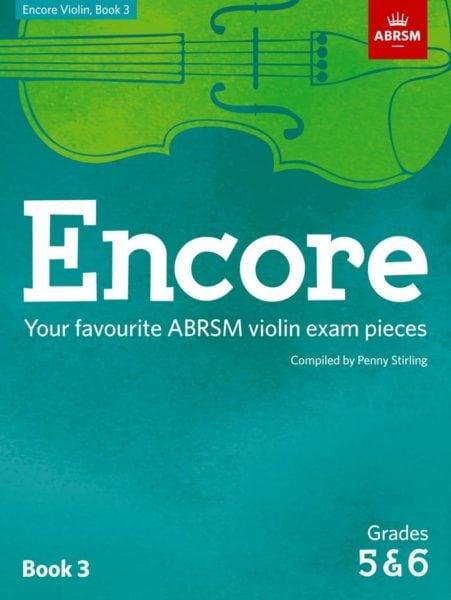 Encore Violin book 3 ABRSM